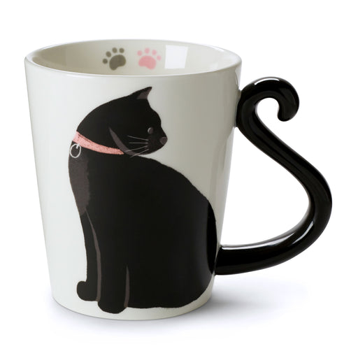 Coffee Mug - Black Cat Tail