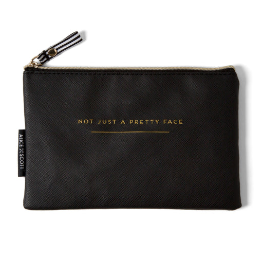 black multi-use pouch posh and pop