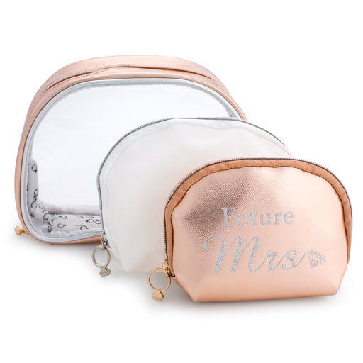 Makeup Bag Set - Future Mrs - Set of 3
