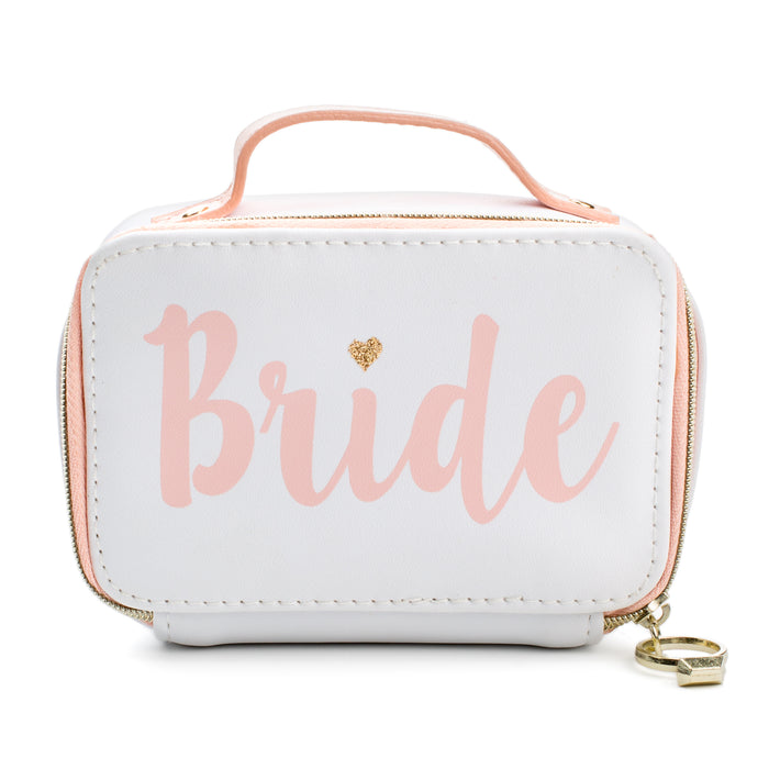 bride wedding day jewelry organizer posh and pop