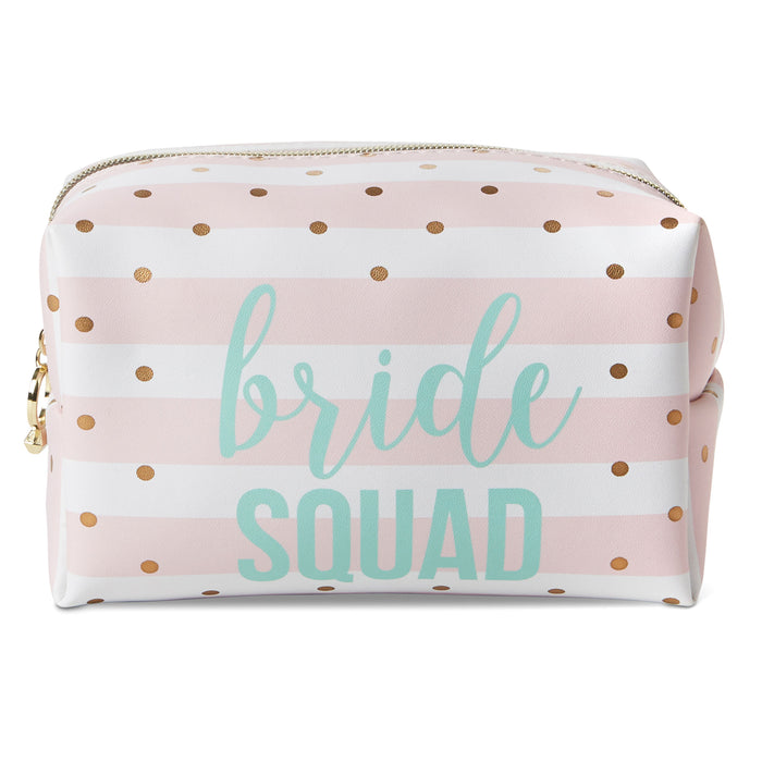 bride squad makeup bag is the perfect gift for your bridesmaids posh and pop