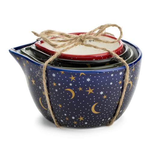 celestial dreams moon and stars measuring cups posh and pop