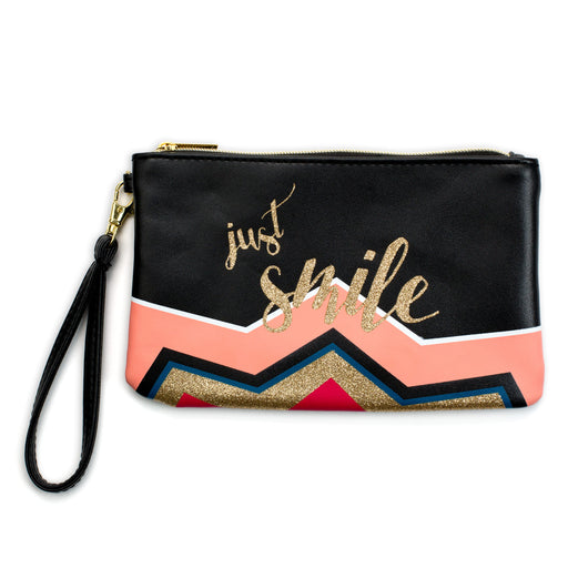 wristlet with portable charger just smile posh and pop