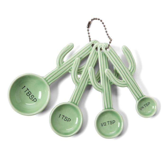 cactus kitchen accessories, measuring spoons
