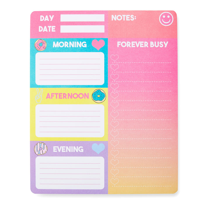 sweet days ahead desk planner pad posh and pop