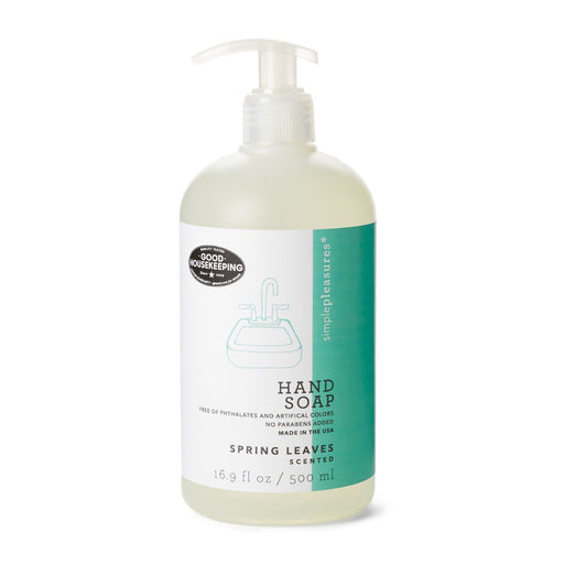 spring leaves scented hand soap as seen in good housekeeping magazine
