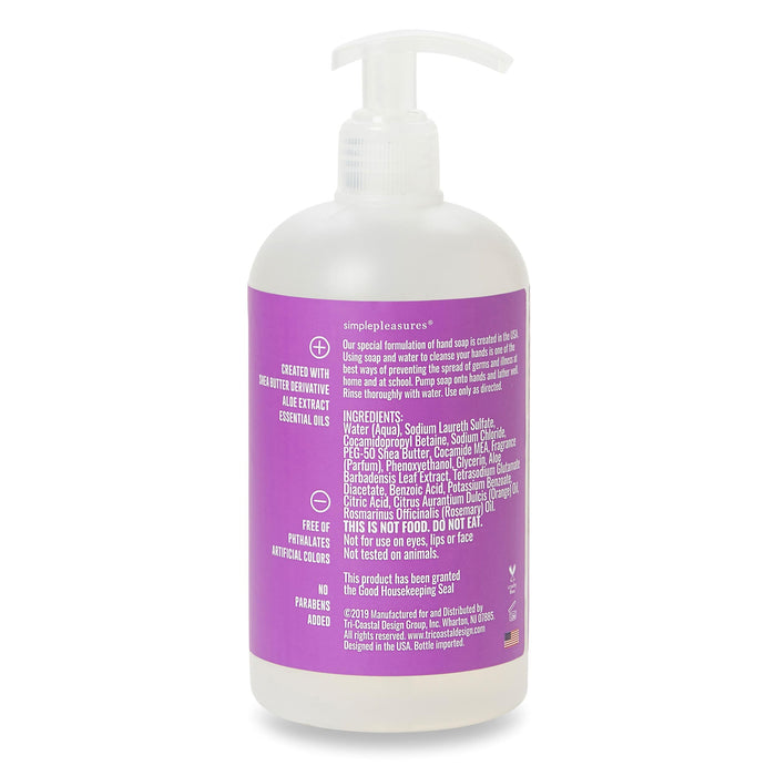 good housekeeping hand soap, fresh lavender, posh and pop