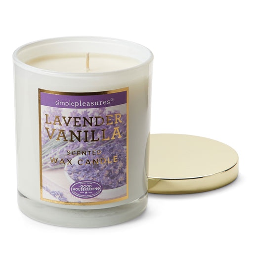 Good Housekeeping Lavender Vanilla Candle