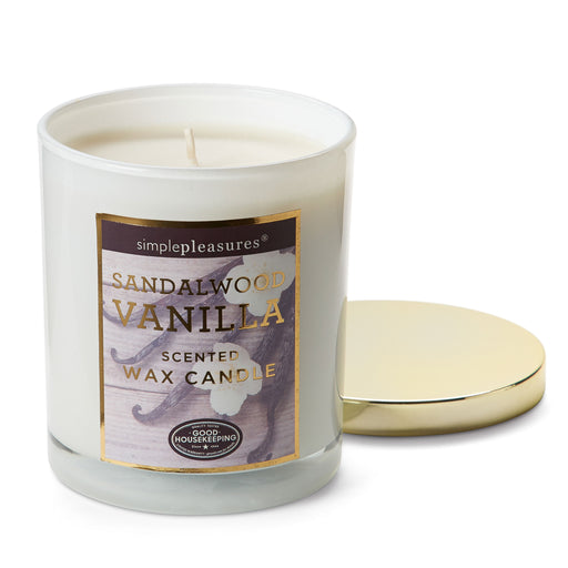 Good Housekeeping Sandalwood Vanilla Candle