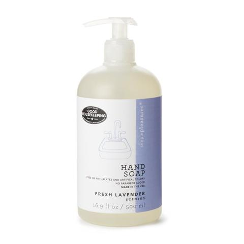 lavender scented hand soap as seen in good housekeeping magazine