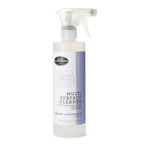 lavender multi purpose cleaning spray as seen in good house keeping magazine