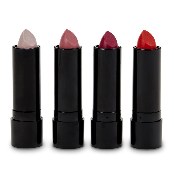 lipstick set red and pink set of 4 lipsticks simple pleasures posh and pop