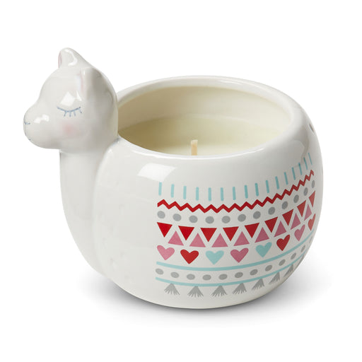 llama candle decorative ceramic candle posh and pop