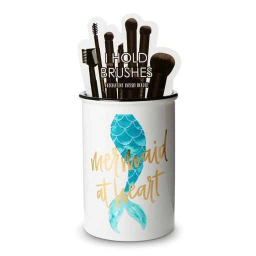 Brush Holder - Mermaid At Heart