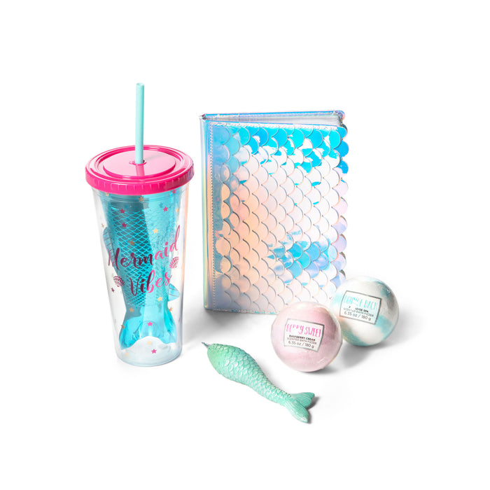mermaid gift bundle perfect summer birthday gift idea