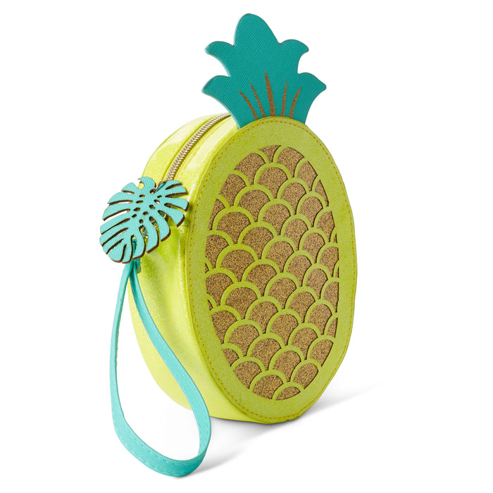 pineapple shaped wristlet bright and tropical accessory posh and pop