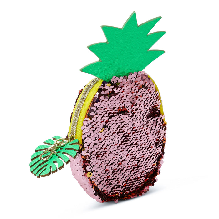 Coin Purse - Pineapple Sequin Change Purse