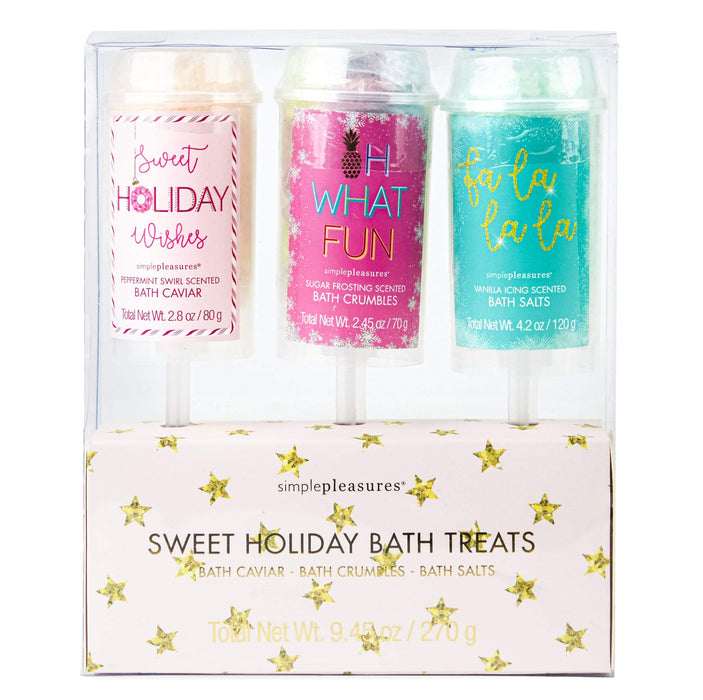 Sweet Holiday Bath Treats - Package