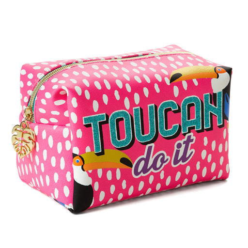 toucan do it make up bag posh and pop