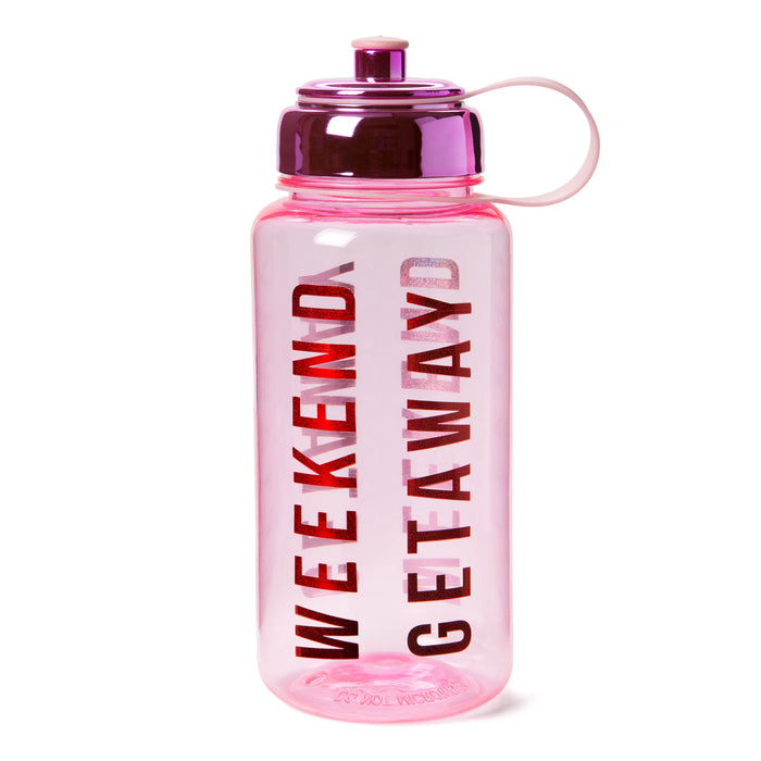 gift idea, travel accessories, wanderlust products, plastic water bottle