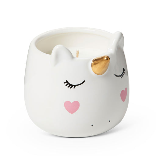 sweet vanilla scented unicorn shaped candle posh and pop