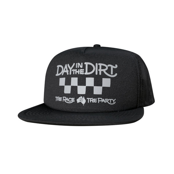 Day in the Dirt Fasthouse Trucker (Black)