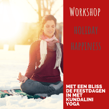 Afbeelding in Gallery-weergave laden, YOGA WORKSHOP - Holiday Happiness -