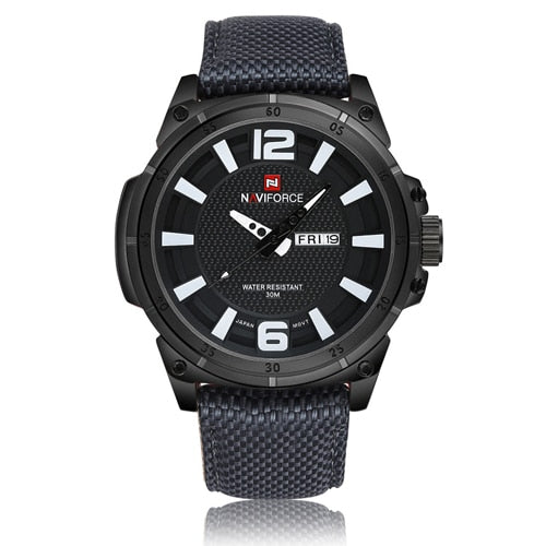 Military -  Quartz Titanium Black Watch