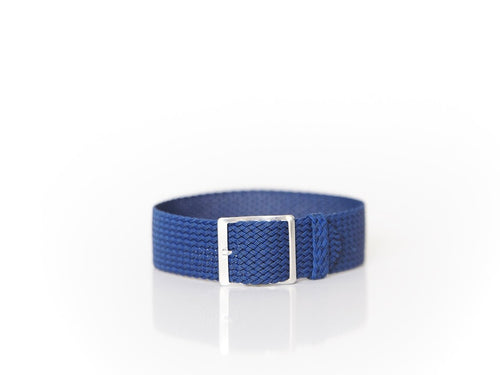 Blue Perlon Strap (20mm)