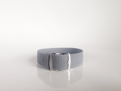 Gray Perlon Strap (22mm)