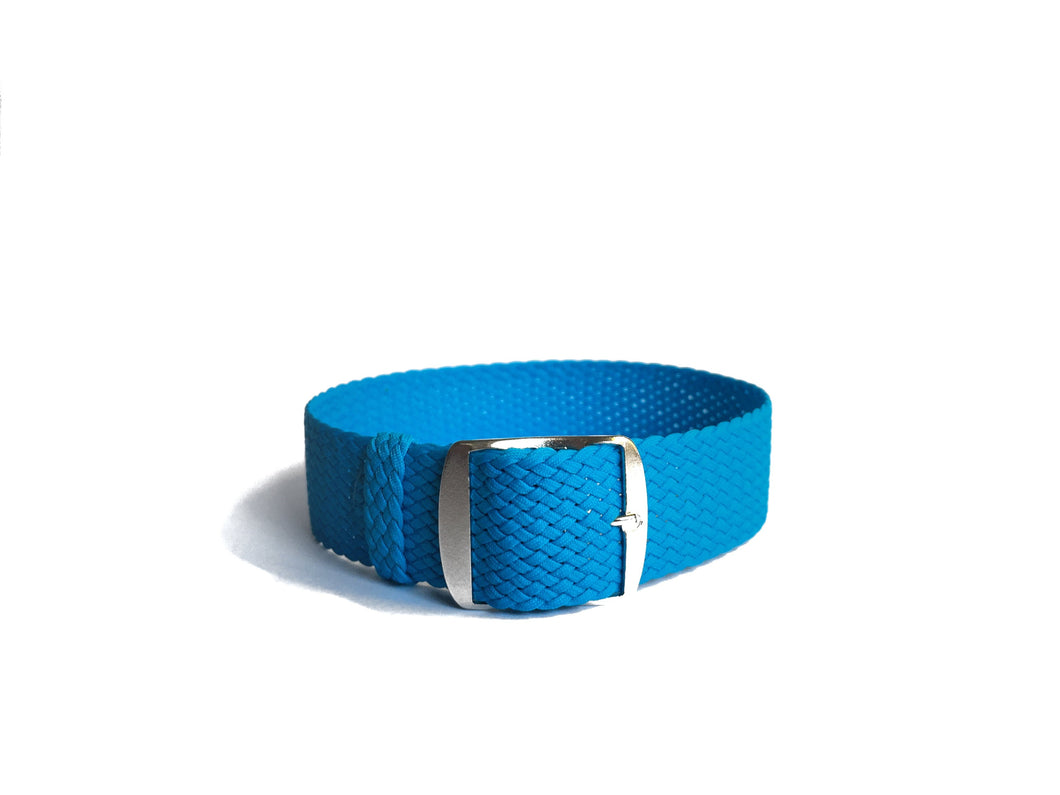 Sky Blue Perlon Strap (22mm)