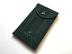 Rolex Suede Travel Pouch