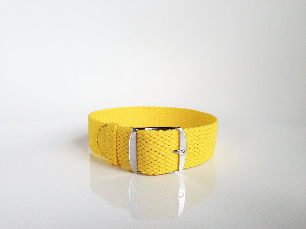 Yellow Perlon Strap (20mm)
