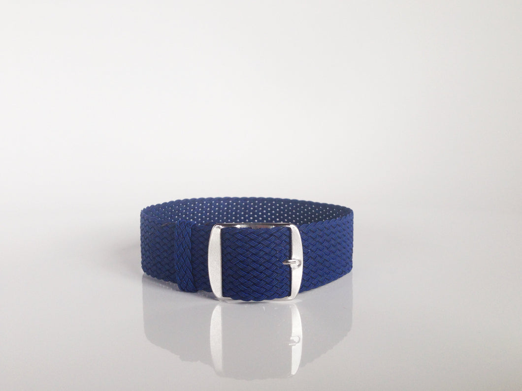 Blue Perlon Strap (18mm)