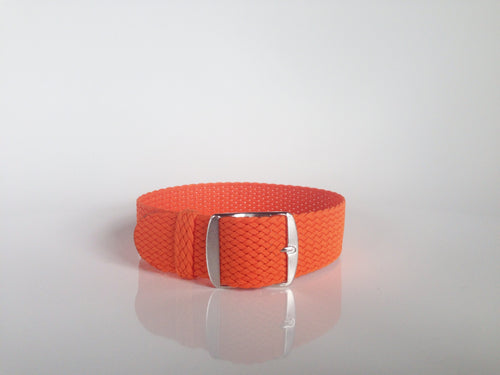 Orange Perlon Strap (18mm)