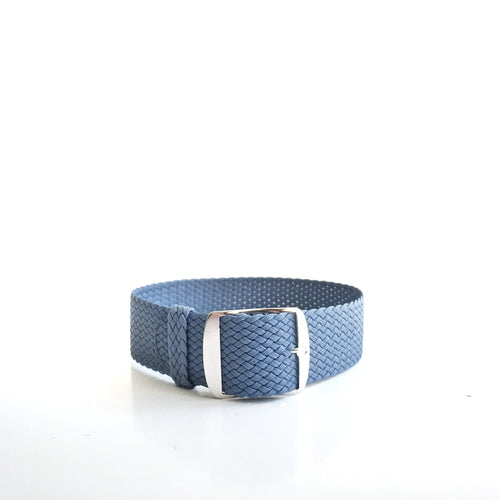 Light Blue Perlon Strap (20mm)