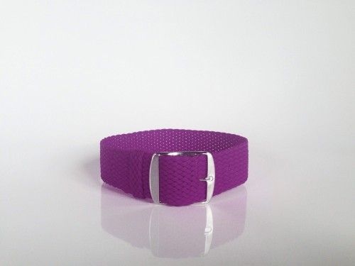Purple Perlon Strap (24mm)