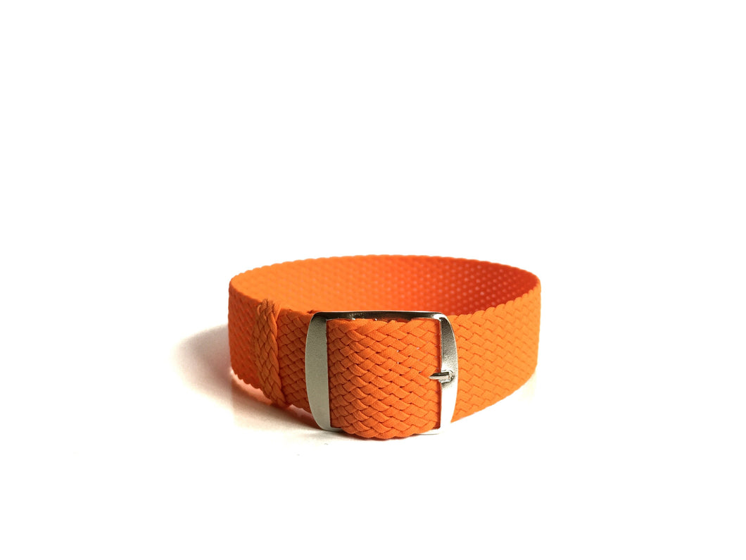 Fluo Orange Perlon Strap (20mm)