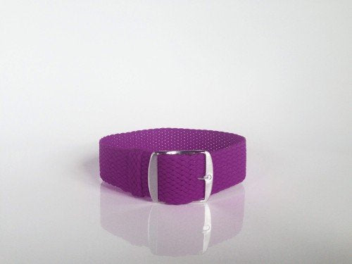 Purple Perlon Strap (18mm)