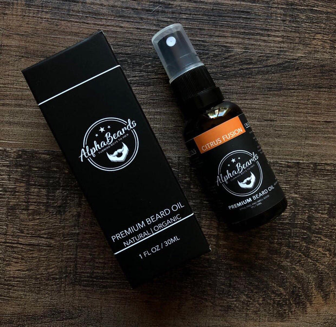 Alpha Beards Premium Beard Oil Citrus Fusion 30ml