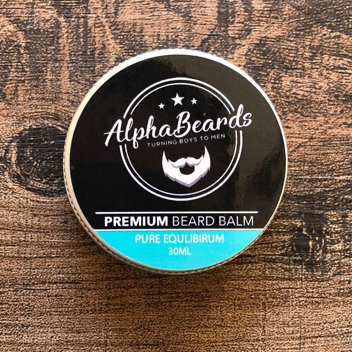 Alpha Beards Premium Beard Balm Pure Equilibrium (Unscented) 30ml / 1fl oz