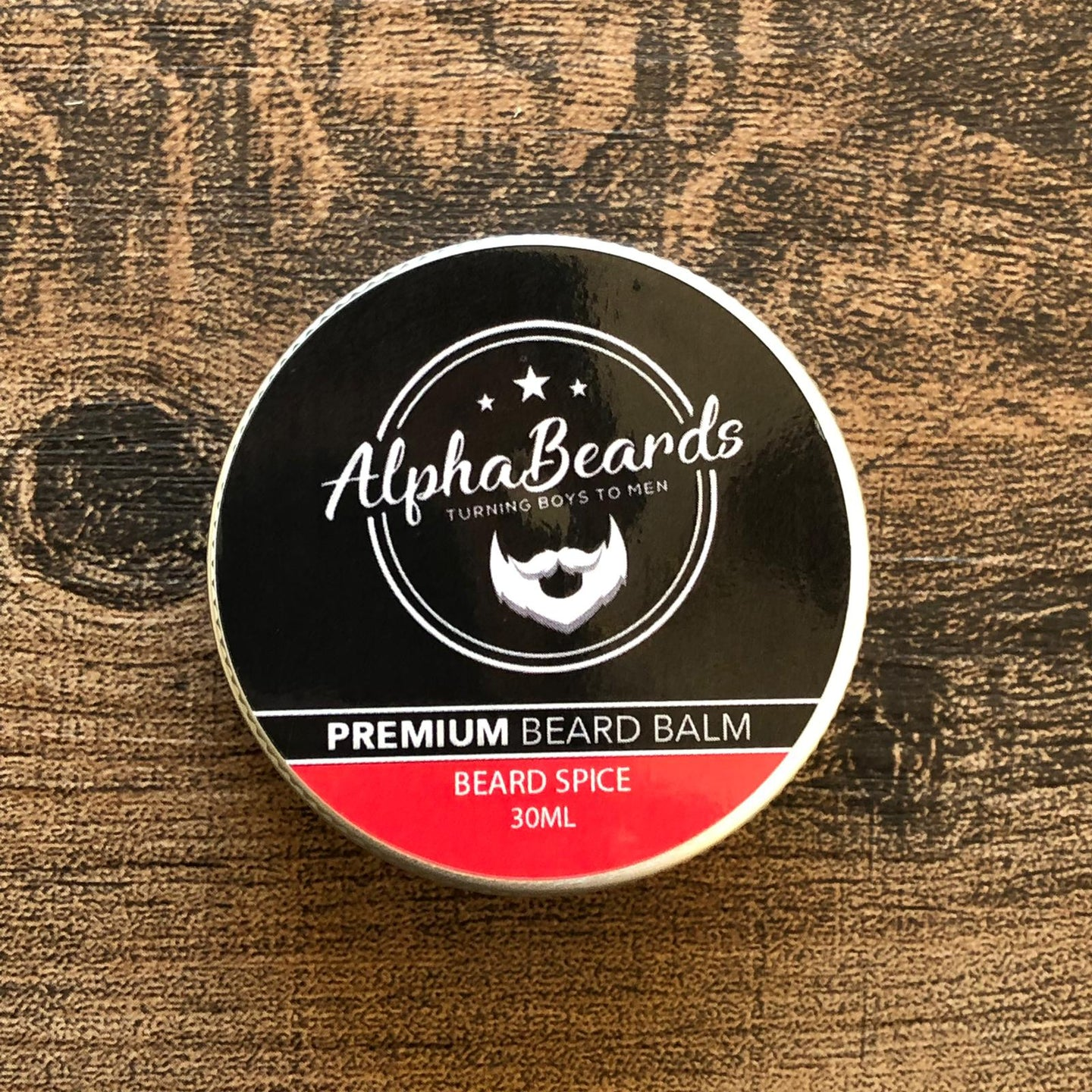 Alpha Beards Premium Beard Balm Beard Spice 30ml / 1fl oz