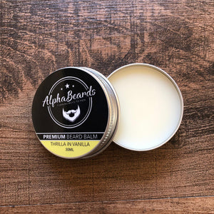 Alpha Beards Premium Beard Balm Thrilla In Vanilla 30ml / 1fl oz