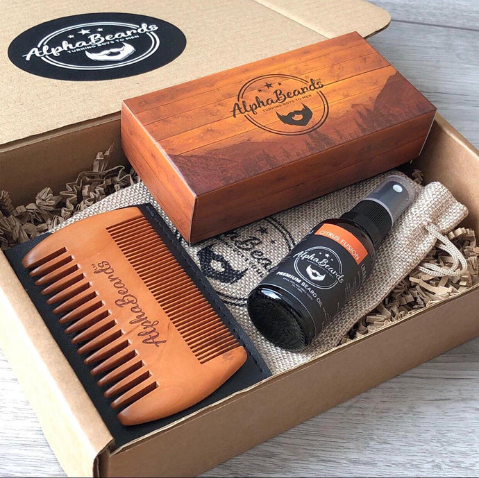 Alpha Beards Triple Threat Gift Set