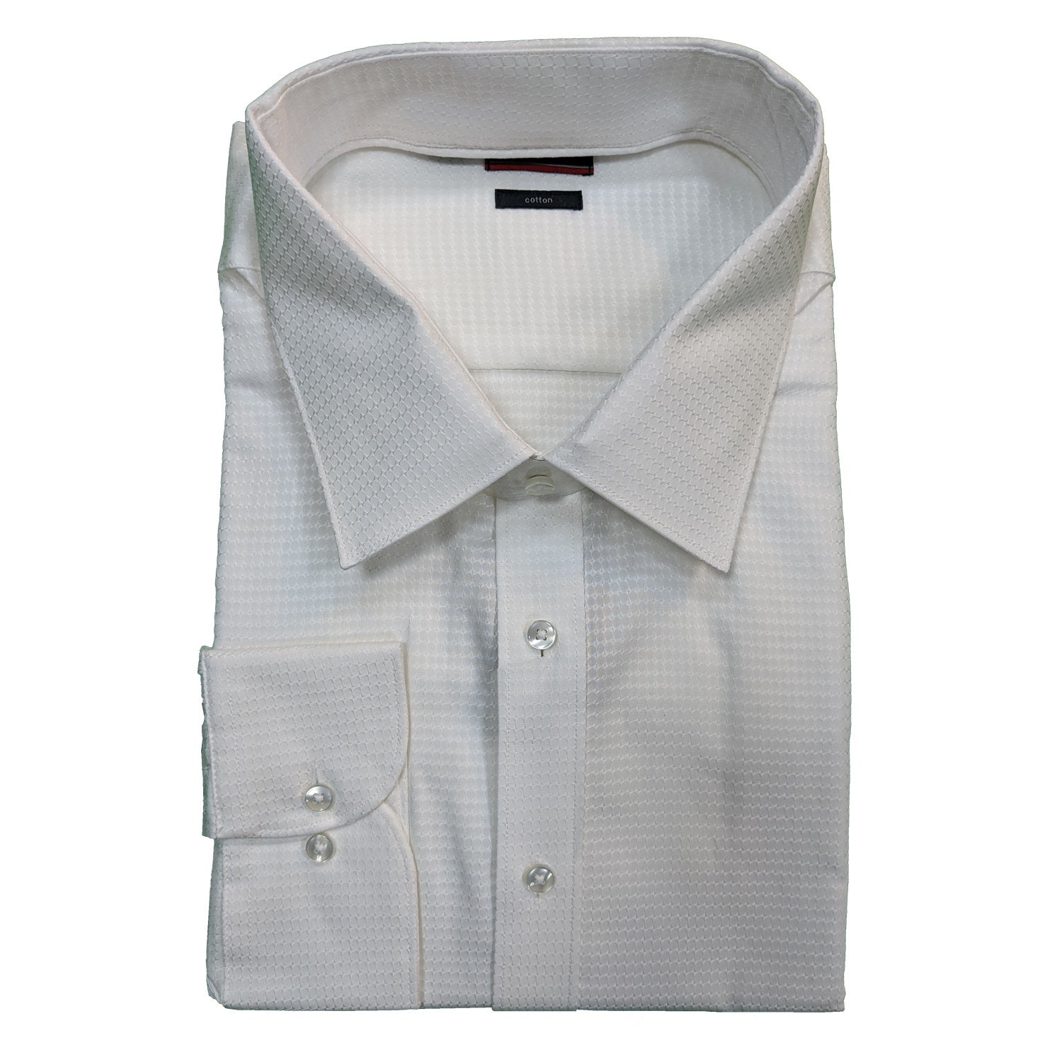 Pierre Cardin L/S Shirt - 45108600 - White 1