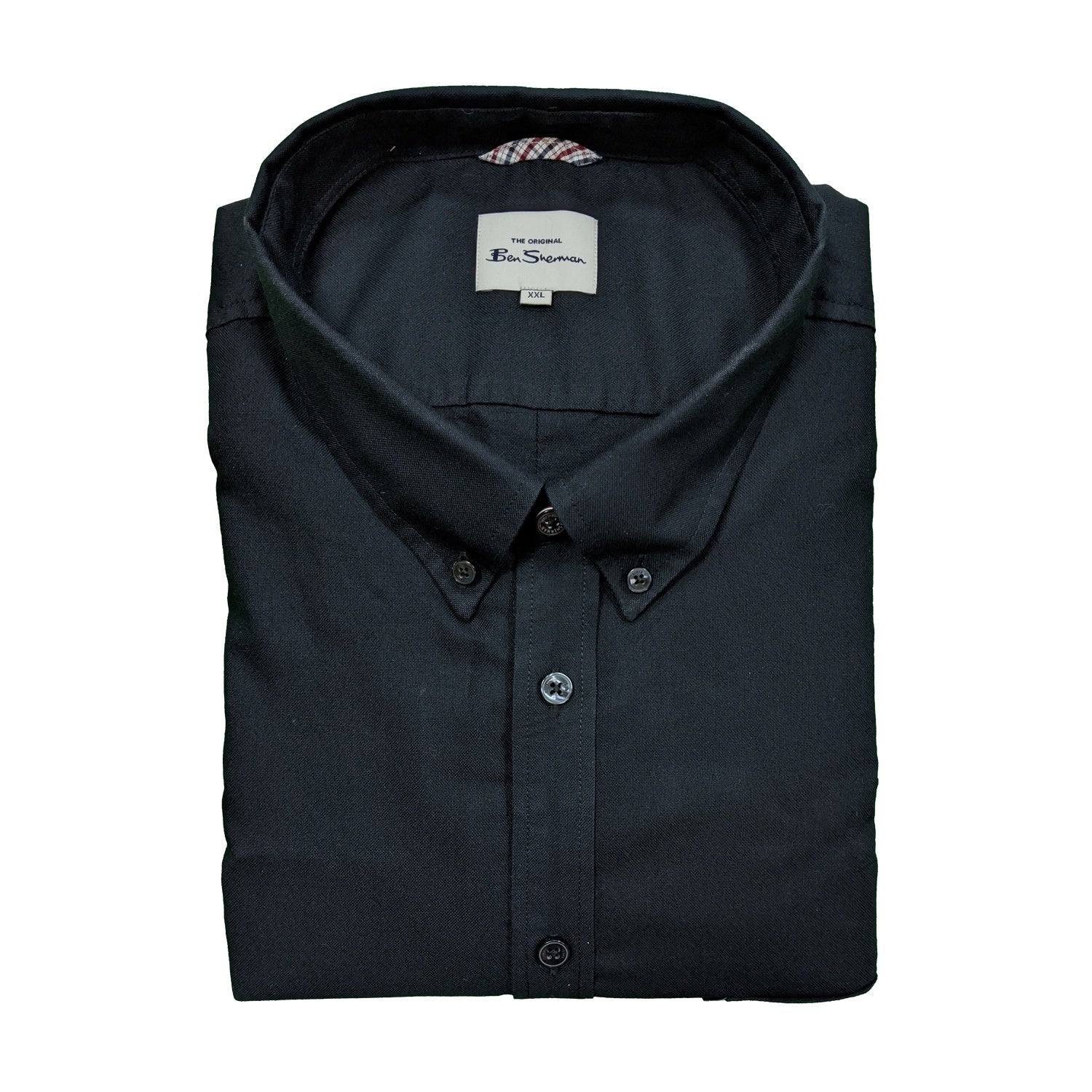 Ben Sherman S/S Oxford Shirt - 0059140IL - Black 1