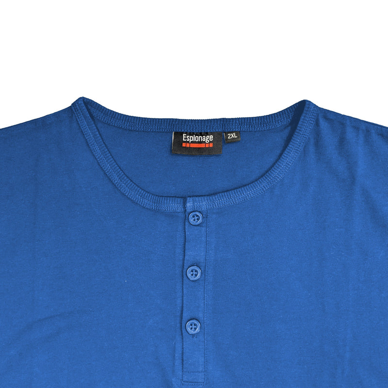 Espionage Grandad Tee - T184 - Atlantic Blue 1