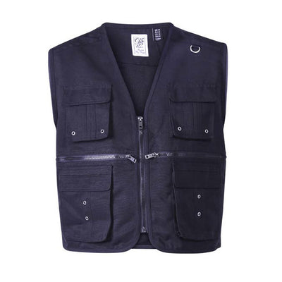 D555 Multi Pocket Gilet - 300901 - Accord - Black 1