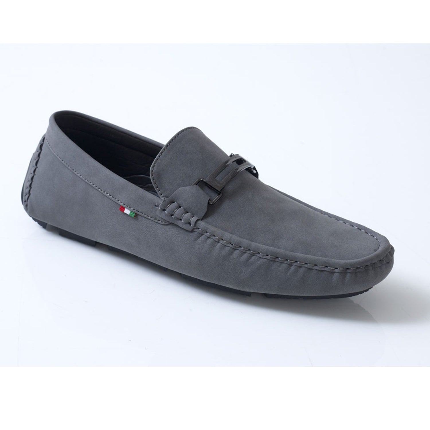 D555 Deck Shoe - KS24115 - Oakland - Grey 1