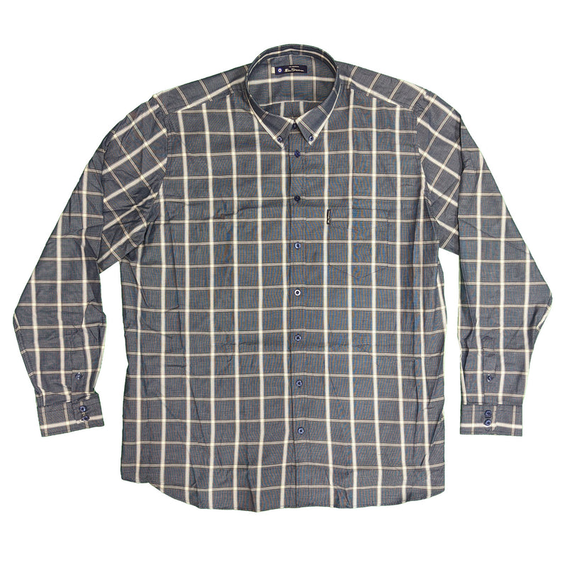Ben Sherman L/S Shirt - 0056237IL - Dark Navy